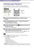 Sony NWZ-S764 - NWZ-S764 Istruzioni per l'uso Inglese - Page 7