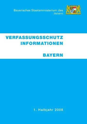 verfassungsschutz informationen bayern - Bayerisches ...