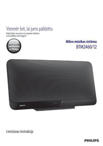Philips Microchaîne - Mode d'emploi - LAV