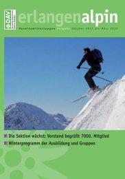 erlangenalpin - Alpenverein Sektion Erlangen