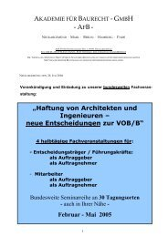 Februar - Mai 2005 - (VDI) Berlin-Brandenburg