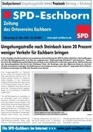 Donnerstag, 27. März 03 - SPD Eschborn