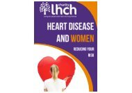 Final Printer Version of Women and Heart Disease Booklet