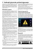 Philips Projecteur LED intelligent Screeneo - Mode d'emploi - RON - Page 4