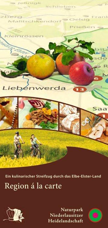 ein kulinarischer Streifzug durch - Naturpark Niederlausitzer ...