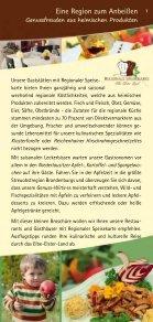 ein kulinarischer Streifzug durch - Naturpark Niederlausitzer ... - Seite 3