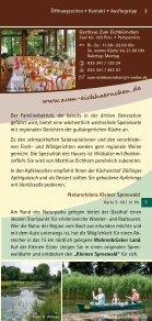 ein kulinarischer Streifzug durch - Naturpark Niederlausitzer ... - Seite 5