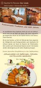 ein kulinarischer Streifzug durch - Naturpark Niederlausitzer ... - Seite 6
