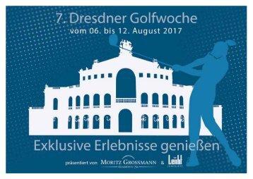 Broschüre 7. Dresdner Golfwoche