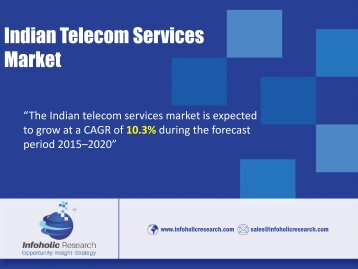 Indian Telecom services market