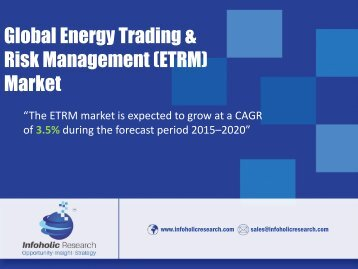Global Energy Trading & Risk Management (ETRM) Market