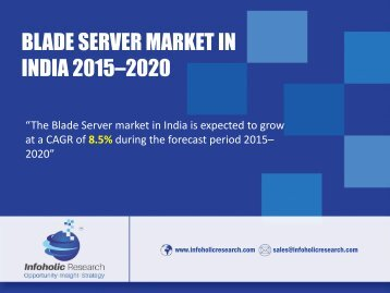 Blade server market