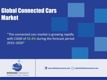 Global Connected Cars Market