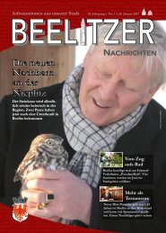 Beelitzer Nachrichten - Januar 2017