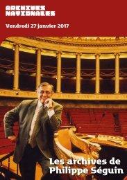 Les archives de Philippe Séguin