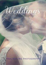 Paul Keeling Photography Brochure