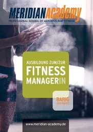 Fitnessmanager 2017