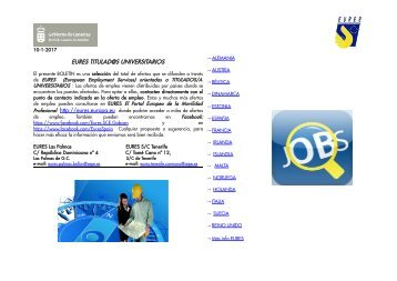s EURES TITULAD@S UNIVERSITARIOS http://eures.europa.eu