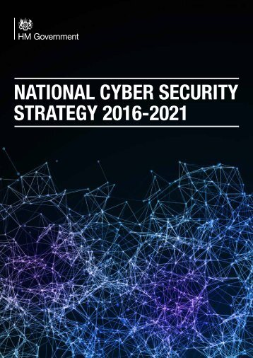 NATIONAL CYBER SECURITY STRATEGY 2016-2021