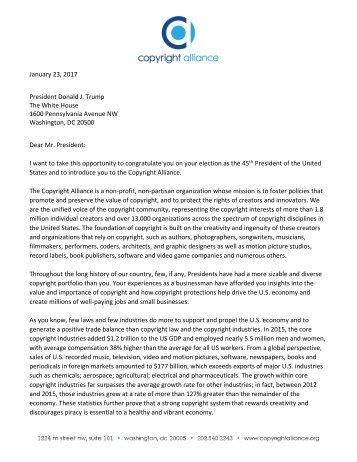 Letter-to-President-Donald-Trump-Jan-23-2017