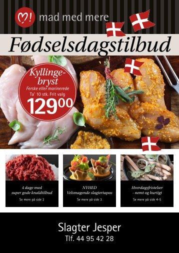 Slagter Jesper Foedselsdagsavis 2017