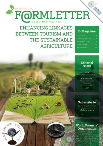 ENHANCING LINKAGES BETWEEN TOURISM AND THE SUSTAINABLE AGRICULTURE