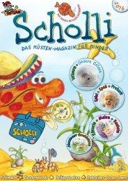 SCHOLLI - Das Küsten-Magazin für Kinder 2016