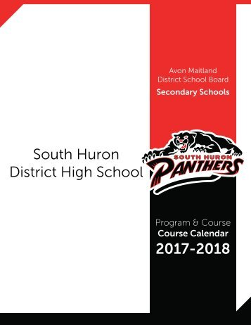 South Huron District High School 2017-2018