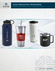 Insulated Drinkware from Sutter's Mill Specialties
