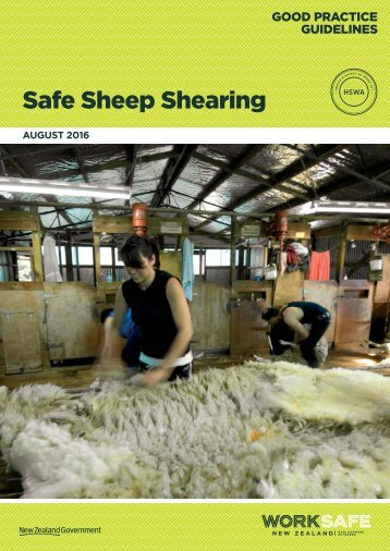 Safe Sheep Shearing