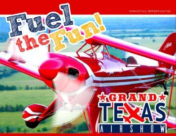 Grand Texas Airshow Production Partner Guide