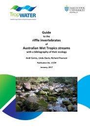 Guide riffle invertebrates Australian Wet Tropics streams