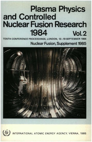 Plasma Physics and Controlled Nuclear Fusion Research 1984 Vol.2