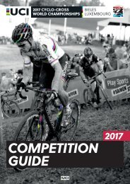 COMPETITION GUIDE