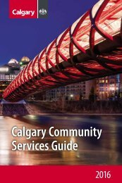Calgary Community Services Guide