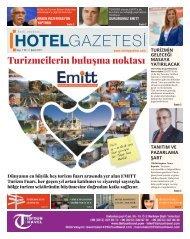HOTEL GAZETESİ  ŞUBAT 1 SAYI 2017