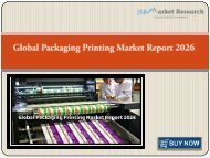 Global Packaging Printing Market Report 2026