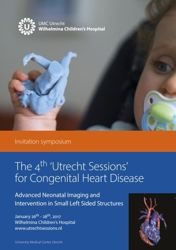 The 4 'Utrecht Sessions' for Congenital Heart Disease