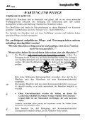 IMMER DIE ZAPFWELLE AUSSCHALTEN; wenn die - Seite 6