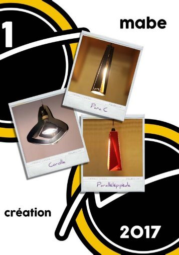 catalogue mabe creation 2017 #01
