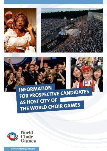 Host of the World Choir Games