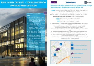 MECD Supply Chain Day Leaflet