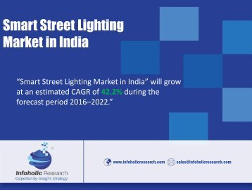 Smart Street Lighting Market in India