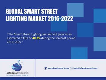 smart street lighting