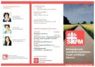SKFM Vorträge und Veranstaltungen 2017