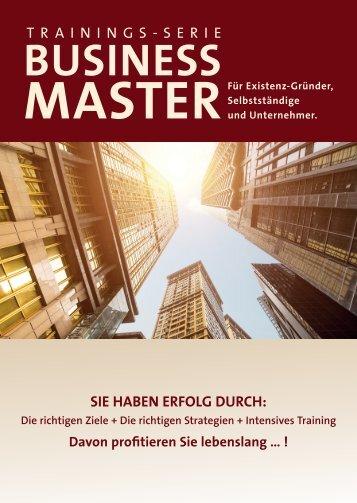 Broschüre Business Master