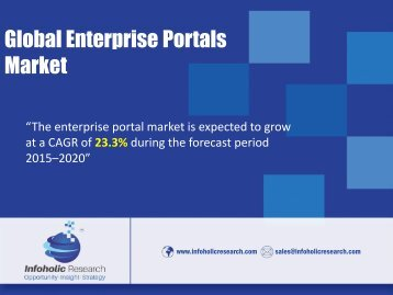 Global Enterprise Portals Market
