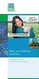 Bilanz und Positionen 2010/2011