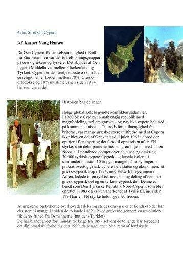 43års Strid om Cypern