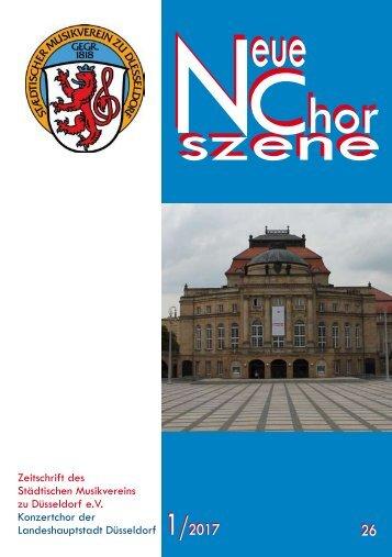 NeueChorszene 26 - Ausgabe 1/2017